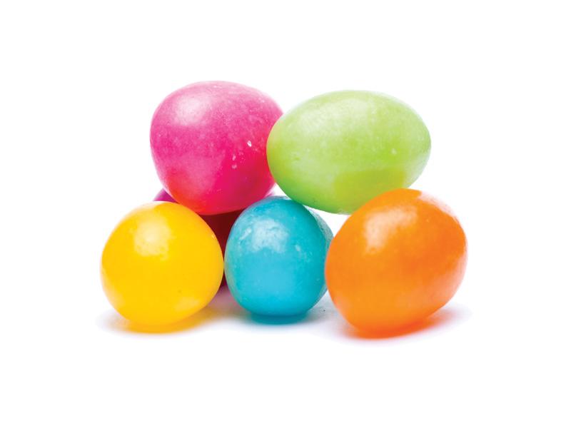 jelly beans lösvikt